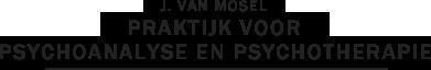 J. van Mosel, Praktijk voor Psychoanalyse en Psychotherapie